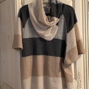 Gorgeous nwot Jorie poncho/sweater